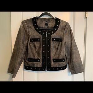 NWOT Worthington Cropped Jacket